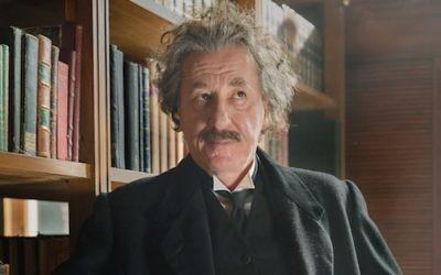 Geoffrey Rush stars as Albert Einstein in National Geographic's Genius. Credit: National Geographic/Dusan Martincek