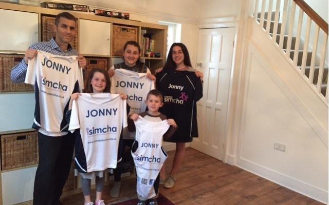 Jonny Phillips will be running for Camp Simcha