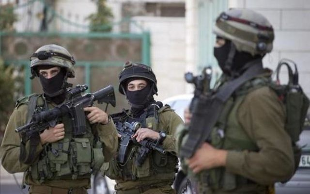 IDF soldiers in action