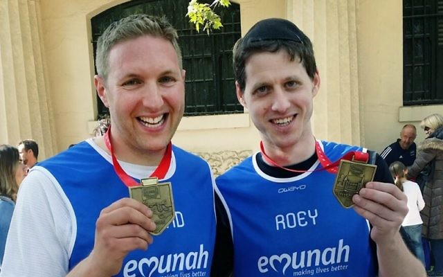 Emunah's David Bondt and Roey Freilich,