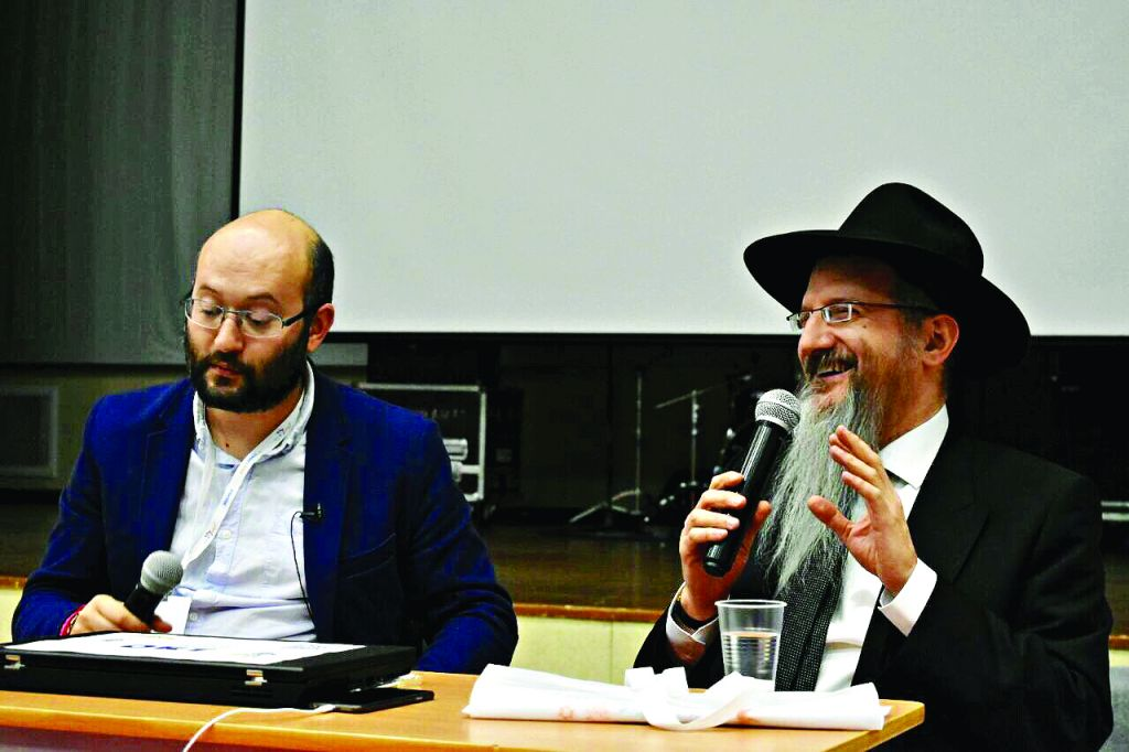 Chief Rabbi Berel Lazar at the conference