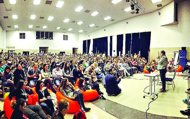 Some 2,000 delegates attended last weekend's Limmud FSU, held in the Russian capital