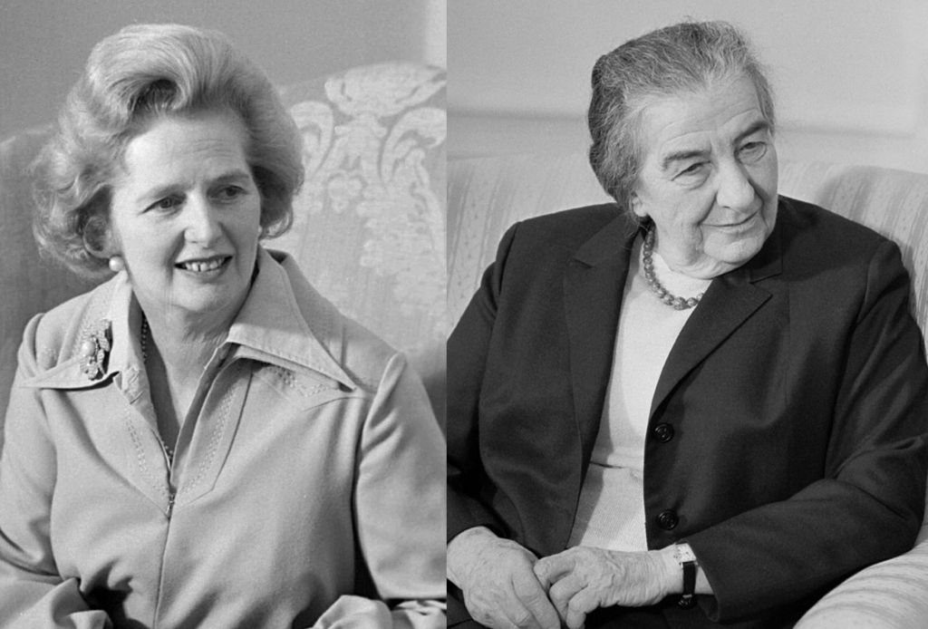 The two 'Iron Ladies', Margaret Thatcher and Golda Meir