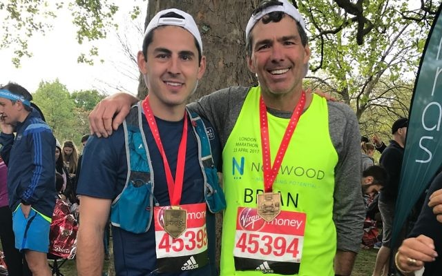 Two of Norwood's runners