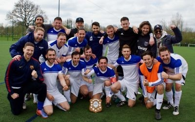 Redbridge's B side claimed the Division One title last season