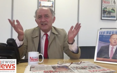 Ken Livingstone's Pesach message, as imagined by The Jewish News.