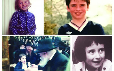 Top: Rabbi Shauk Rosenblatt, Rabbi Jonny Hughes, Bottom: Rabbi Dov Katz and Rabbi Laura-Janner-Klausner