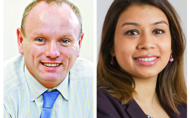 Mike Freer and Tulip Siddiq will be vying for votes in Golders Green and Hampstead