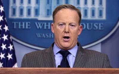 Blunder: Sean Spicer.