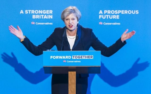 Conservative party leader Theresa May    (Photo credit: Danny Lawson/PA Wire)