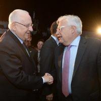 President Reuven Rivlin meets with US ambassador to Israel David Friedman