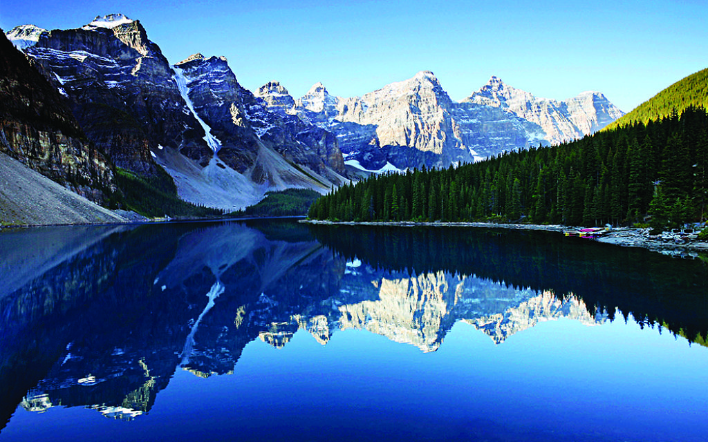 A view of the Banff National Park, Alberta, Canada.  (Picture credit: PA Photo/thinkstockphotos.)