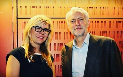 Emma Barnett with the Labour leader ahead of women's hour