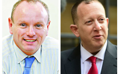 Tory Mike Freer and Labour's Jeremy Newmark