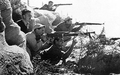Haganah fighters in 1947