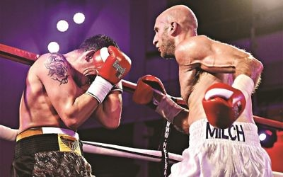 "Tony Milch is determined to ""bounce back"" from his first  defeat"