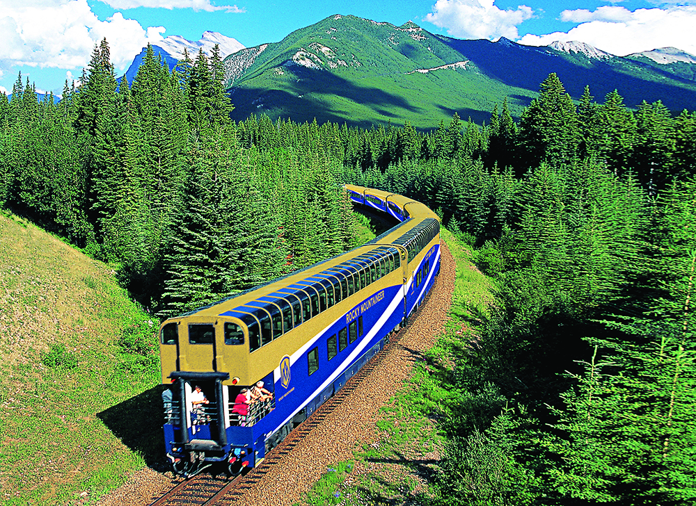 The Rocky Mountaineer train. (Picture credit: PA Photo/Rocky Mountaineer.)