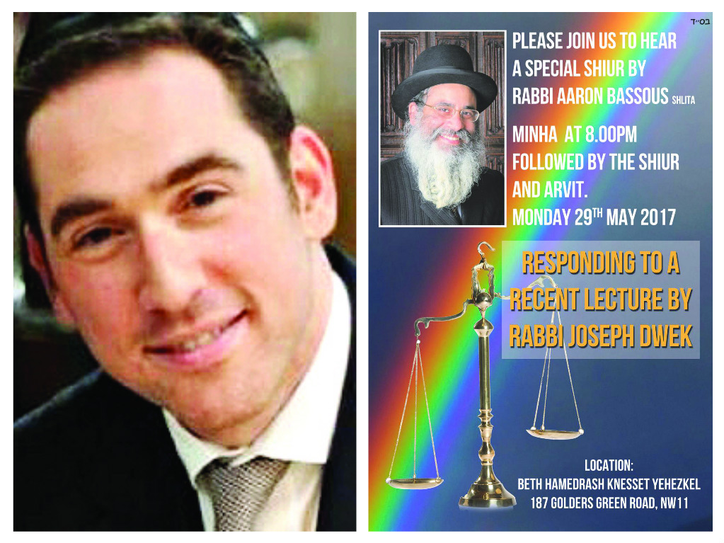 Orthodox rabbis statement homosexuality