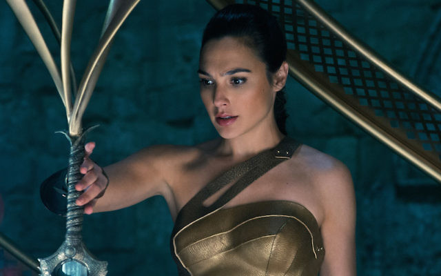 Gal Gadot as Wonder Woman in 2017