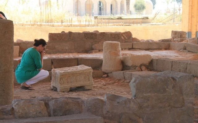 Photo credit: Magdala and the Israel Antiquities Authority.