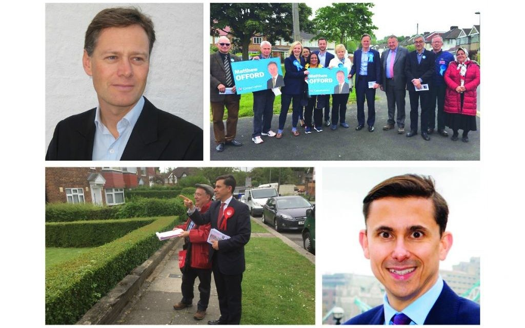 Matthew Offord and Mike Katz on their campaigns