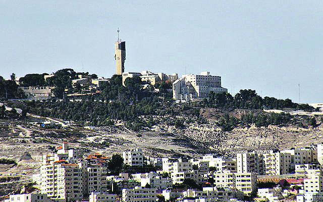 Ma'ale Adumim settlement