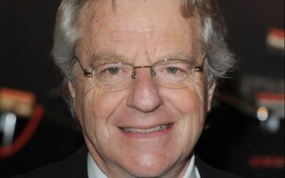 Jerry Springer   Photo credit: Ian West/PA Wire