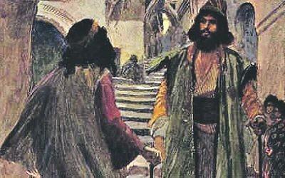 Saul meets Samuel