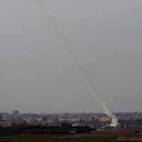 Rocket were fired from Gaza to southern Israel