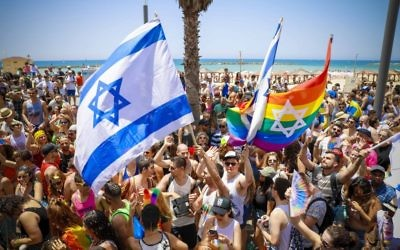 Israel celebrates Gay Pride - Photo Credit: Guy Yechiely