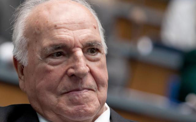 Helmut Kohl in 2012