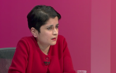 Shami Chakrabarti speaking on BBCQT
