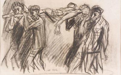 Mieczysław Kościelniak, Powrót z pracy, KL Auschwitz 1942.