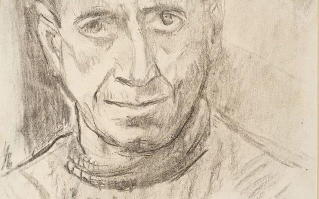 Xawery Dunikowski, Portret Mariana Ruzamskiego, KL Auschwitz 1943-44.