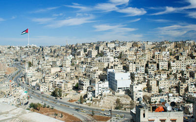 A view of eastern Amman from Jabal al-Qal'a