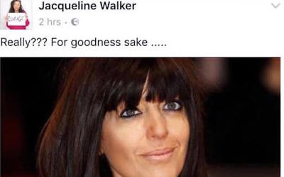 Jackie Walkers Facebook post