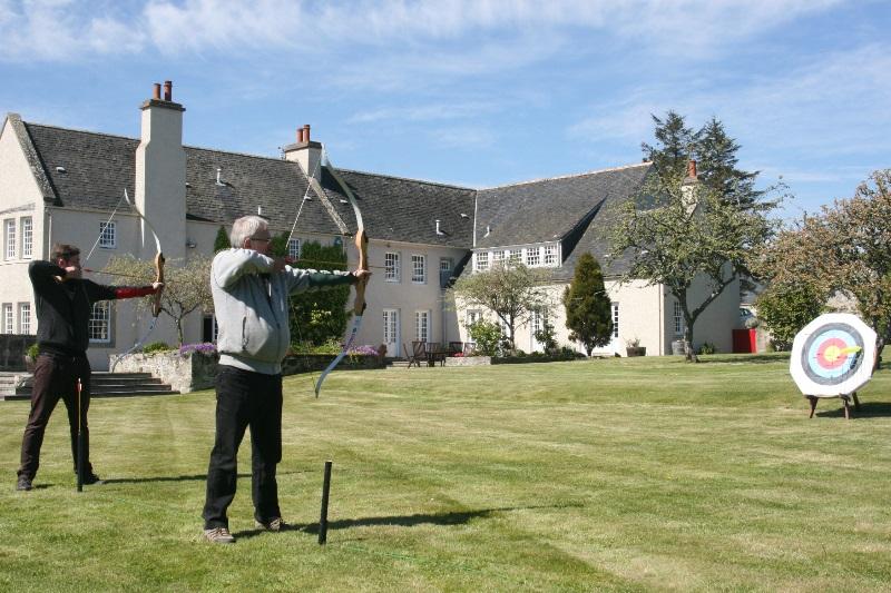 Archery at Glenmorangie
