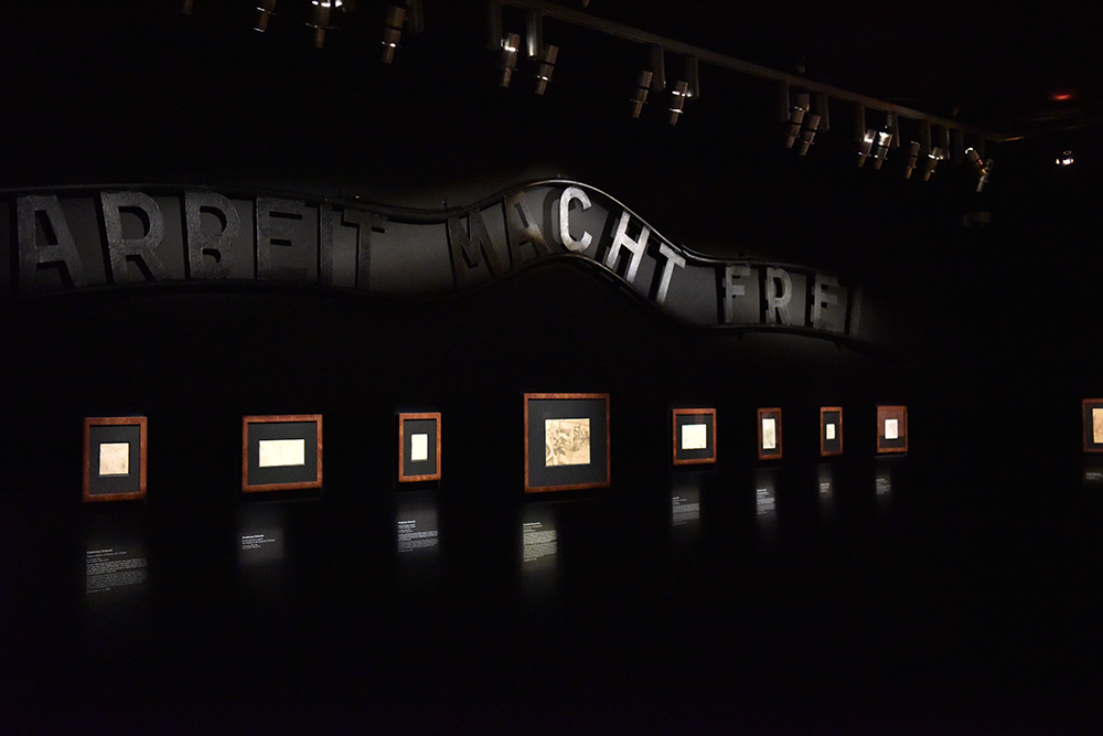 The exhibition rooms at the museum feature and '' Photo: Auschwitz-Birkenau State Museum