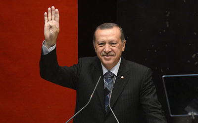 Turkish leader Recep Tayyip Erdoğan