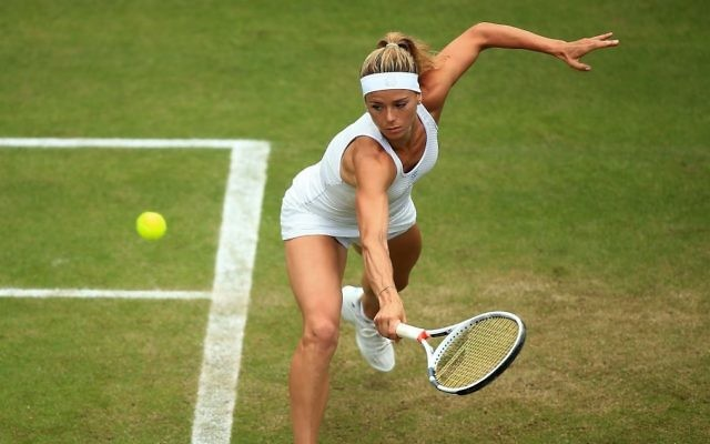 Giorgi is into the third round of the women's singles competition.