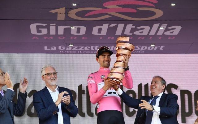 Tom Dumoulin won the 2017 Giro d'Italia