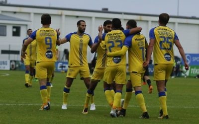 Maccabi Tel Aviv enjoyed a 2-0 win in Iceland. Picture: MTA FC