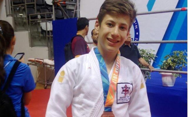 Jonah Alfert won Team GB's first medal of the 20th Maccabiah