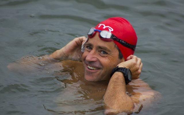 Guy in the water   Credit: Judah S. Harris