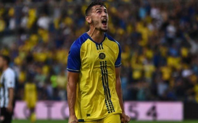 Maccabi Tel Aviv hold a 3-1 first leg lead. Picture: MTA
