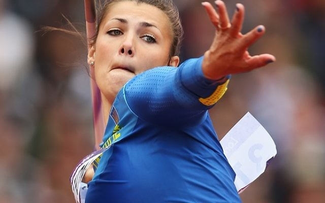 Marharyta Dorozhon failed to reach the final of the javelin