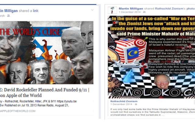 Scottish Activists linking to conspiracy theory sites, including ones that promote Holocaust denial