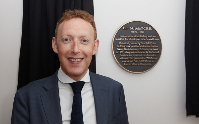 Otto Schiff Plaque Unveiling: Michael Newman CEO of The Assocation of Jewish Refugees