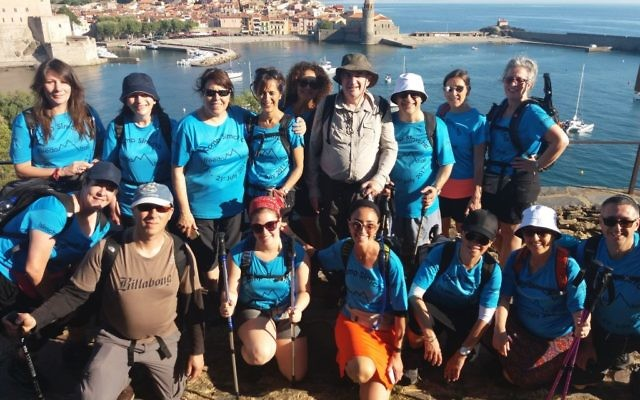 Start of day 1: Collioure viewpoint