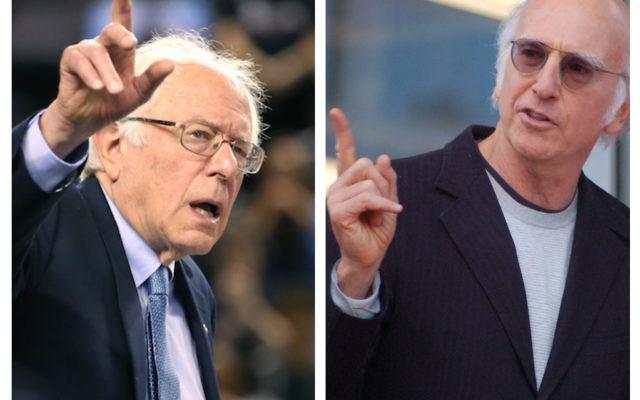 Bernie Sanders and Larry David